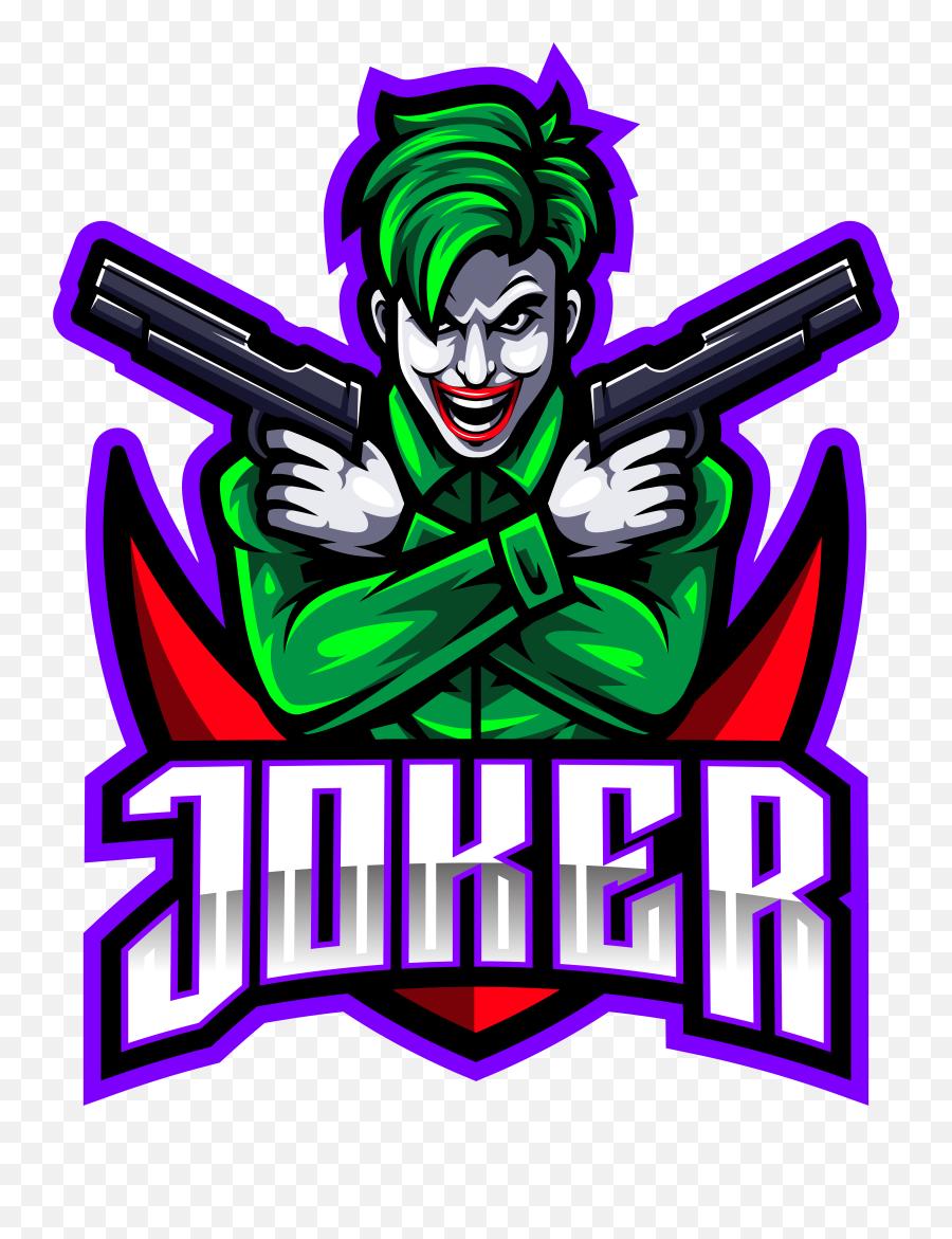 Joker Gunners Esport Mascot Logo Design - Joker Gaming Logo Hd Png,The Joker  Logo - free transparent png images - pngaaa.com