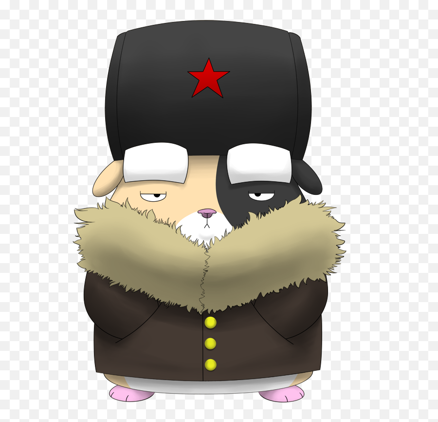 Download Giggles The Russian Hamster By - Russian Hamster With Hat png