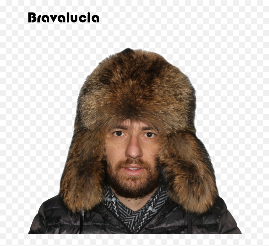 China Fashion Man Real Fur Hat Russian - Ushanka png