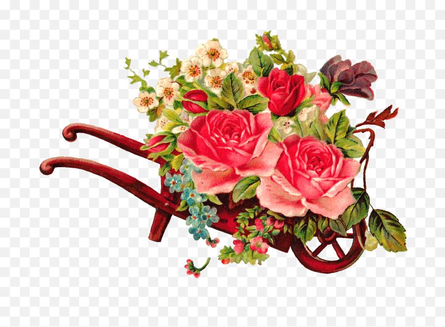 Watercolor Floral Wedding Elements - Flower Arrangements Vintage Png,Vintage Flower Png