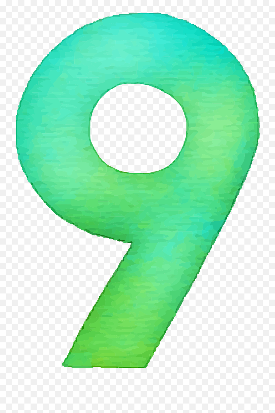 9 Number Png Images Transparent Background Play - Circle