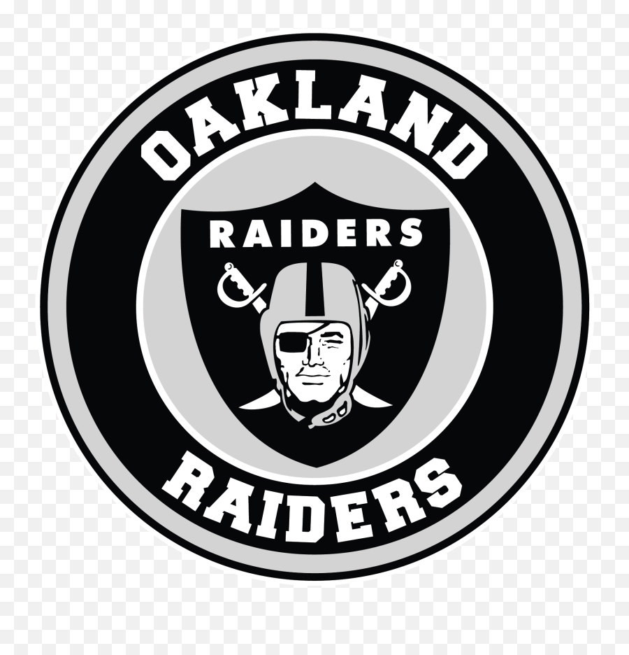 Oakland Raiders Circle Logo Vinyl Decal Oakland Raiders Logo Png Free Transparent Png Images Pngaaa Com