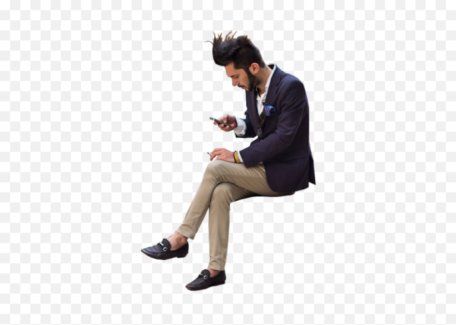 Entourage People Cutout Cut Out - People For Rendering Png,People Sitting Png