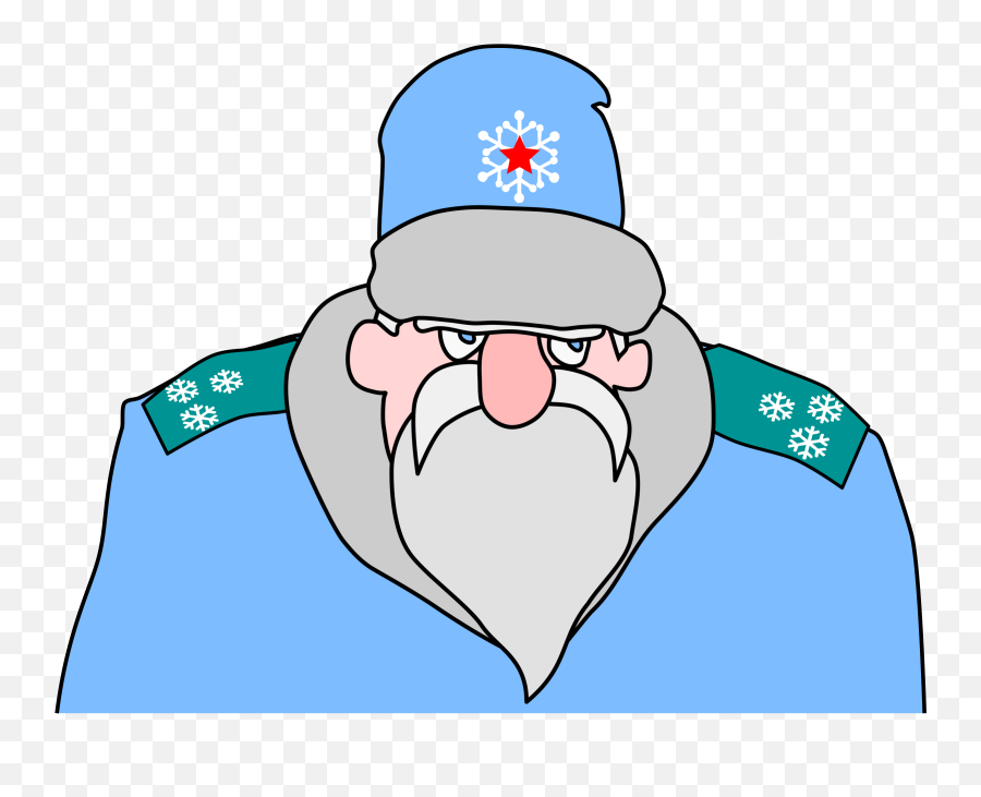 Russian Military Santa Claus - Russia Santa Claus Drawing png