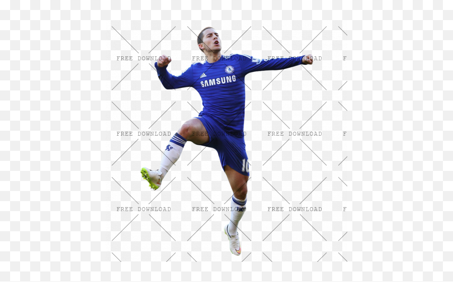 Eden Hazard Fa Png Image With