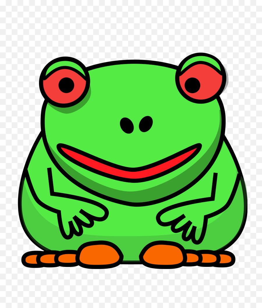 Frog Clip Art Image Vector Graphics Cartoon - Frog Clipart Cartoon Frog Clipart Png,Frog Clipart Png