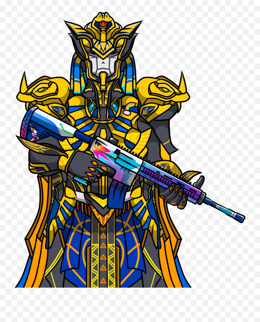 Pubg Mascot Logo Free Download - Pharaoh X Suit Mascot Logo Png,Pharaoh Logo