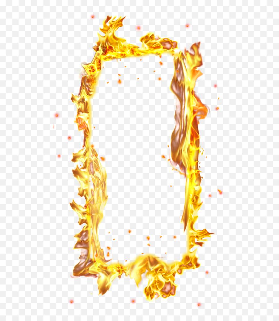 Download Fire Border Png - Transparent Background Fire Png Art