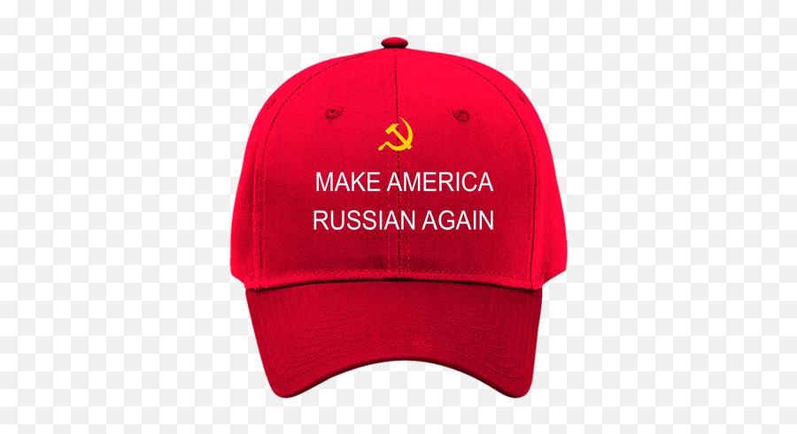 Make America Russian Again Red Cotton Twill Hat Otto Cap - Baseball Cap png