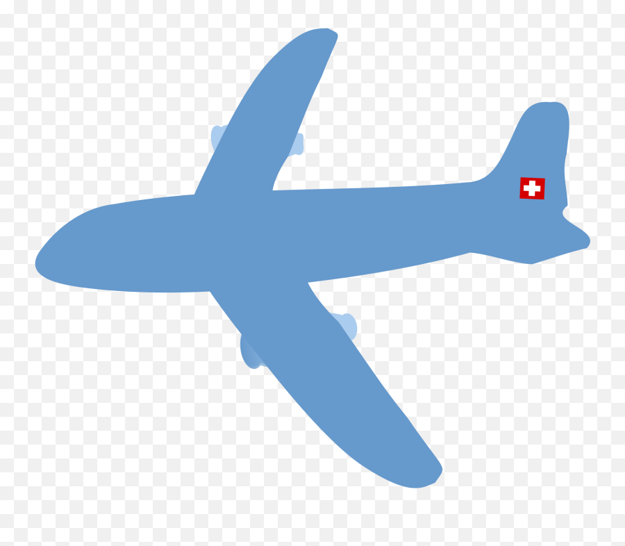 Airplane Clipart No Background - Air Plane Without A Backround png