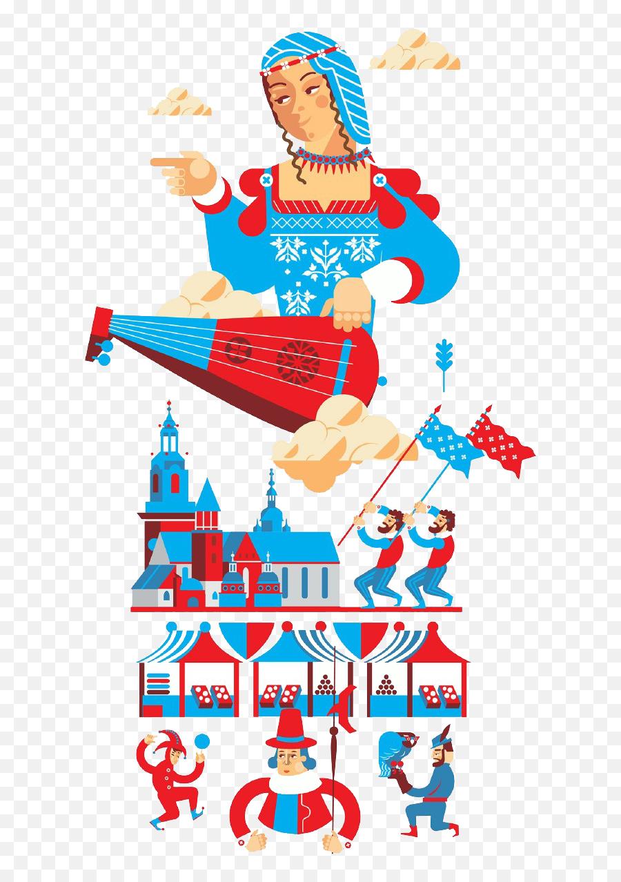 Russia Cartoon Elements Clipart - Full Size Clipart  Russian Elements Png