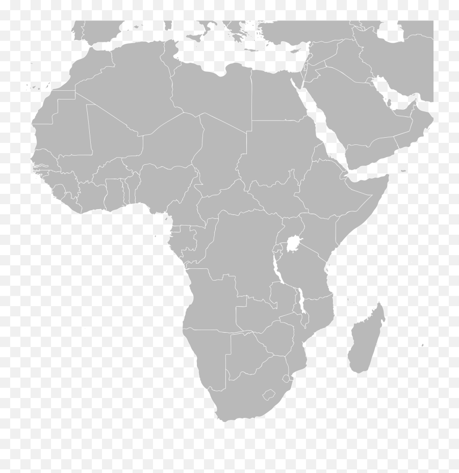 Download Hd Africa Blank Map Png Europe Africa And Middle East Map Free Transparent Png Images Pngaaa Com
