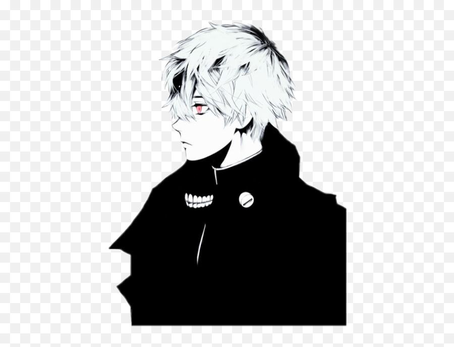 Kenkaneki Ken Kaneki Tokyoghoul Anime - Tokyo Ghoul Background White Png,Kaneki Transparent