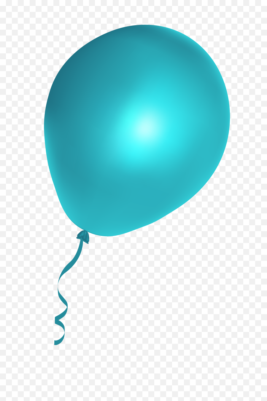 Green Balloon Png Picture - Cyan Balloon