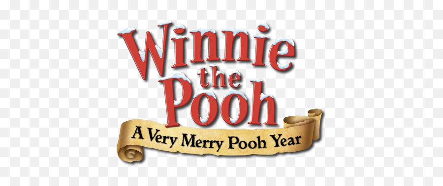 A Very Merry Pooh Year - Fiction Png,Winnie The Pooh Logo
