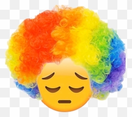 Free Transparent Clown Emoji Png Images Page 1 Pngaaa Com
