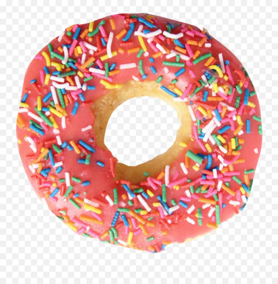 Pink Creamy Donut Png Image - Donut Png