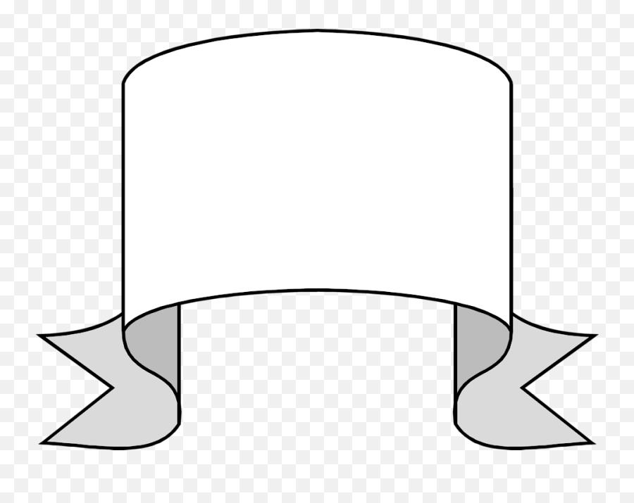White Blank Banner Png 3 Image - Clip Art,Banner Transparent Background