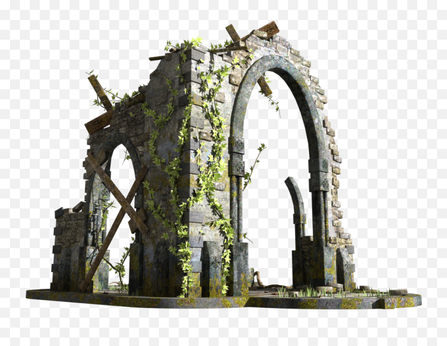 Ruin Png 6 Image - Triumphal Arch,Ruins Png