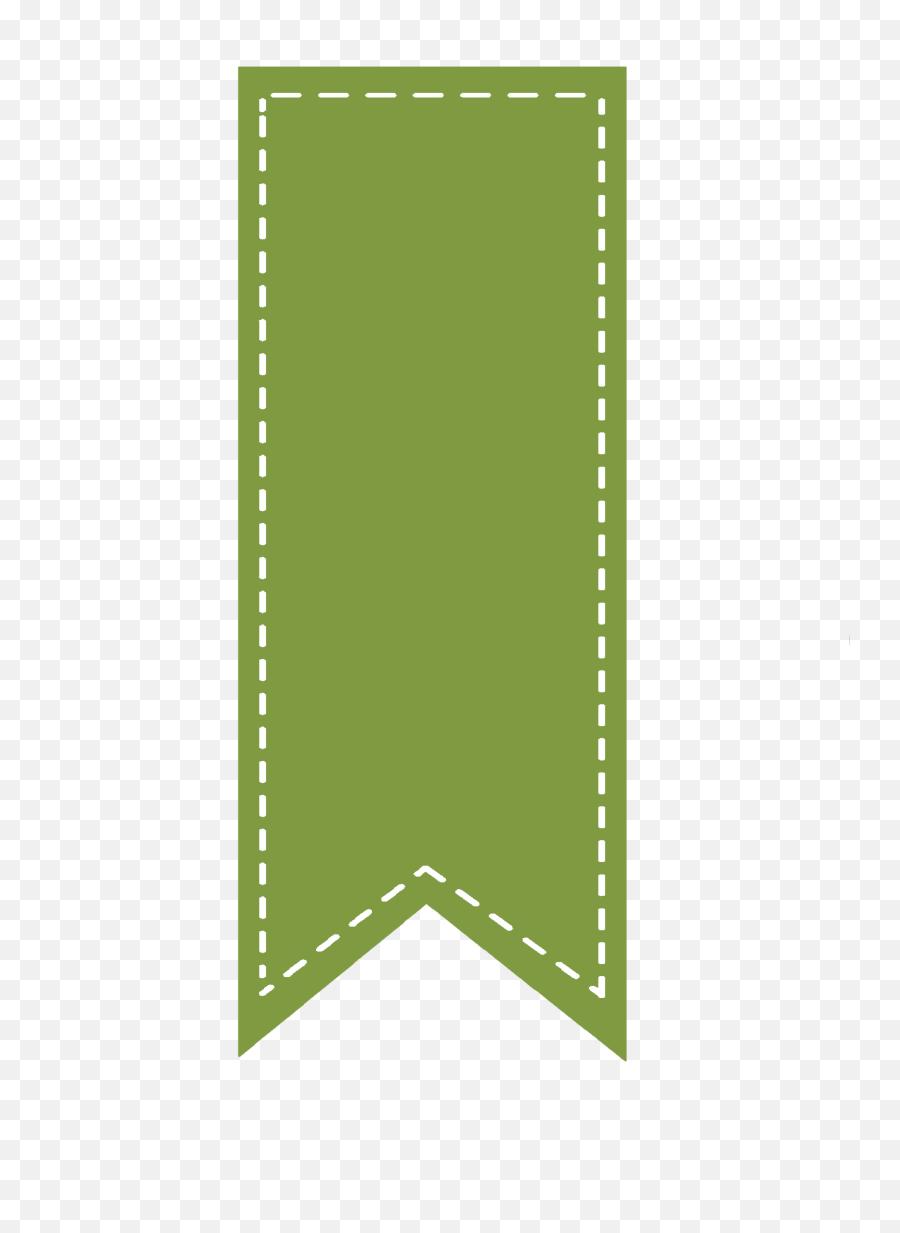 Download Green Ribbon Bookmark - Vertical Ribbon Banner Png  Green Ribbon Bookmark Png