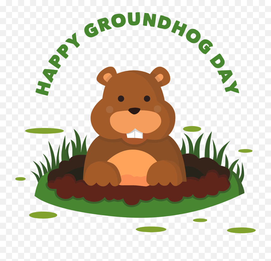 Download Happy Groundhog Day Png Hd Clip Art Groundhog Png Free Transparent Png Images Pngaaa Com