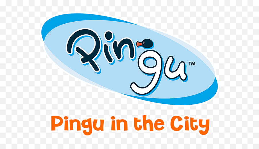 Pingu In The City Wiki Fandom Pingu In The City Logo Png Free Transparent Png Images Pngaaa Com