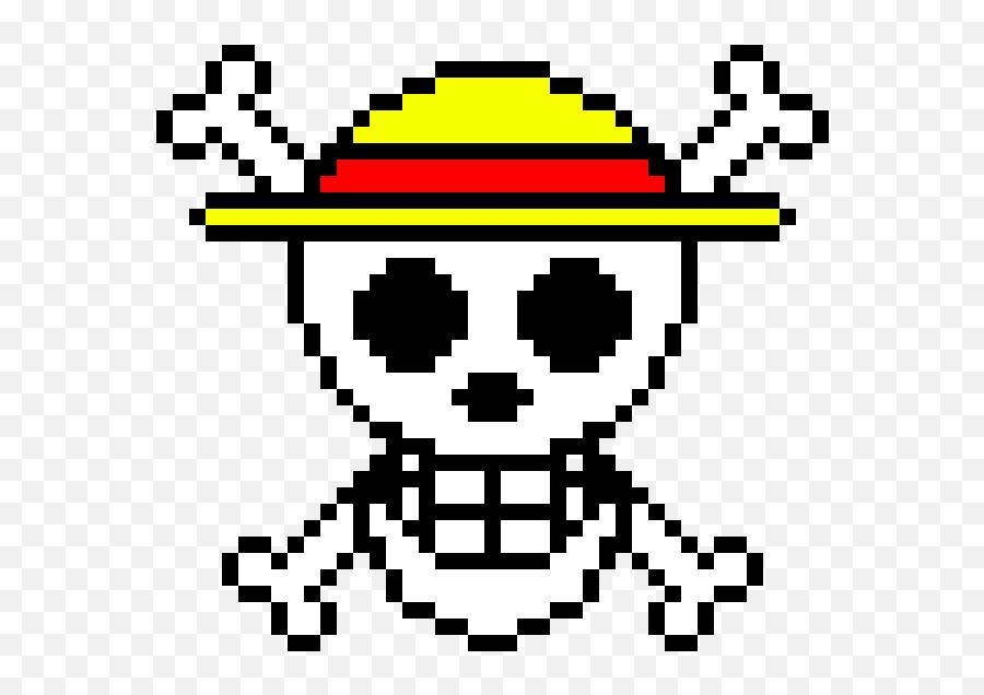 One Piece Flag Logo - One Piece Pixel Art Minecraft Png,One Piece Logo