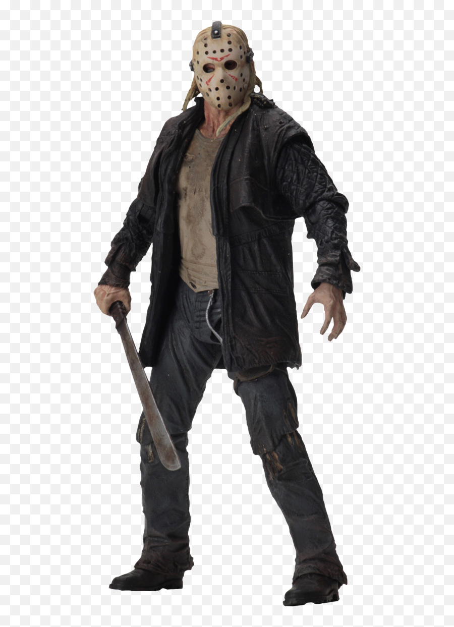 Friday The 13th Jason Voorhees Figure Neca 2009 Jason Png Free Transparent Png Images Pngaaa Com