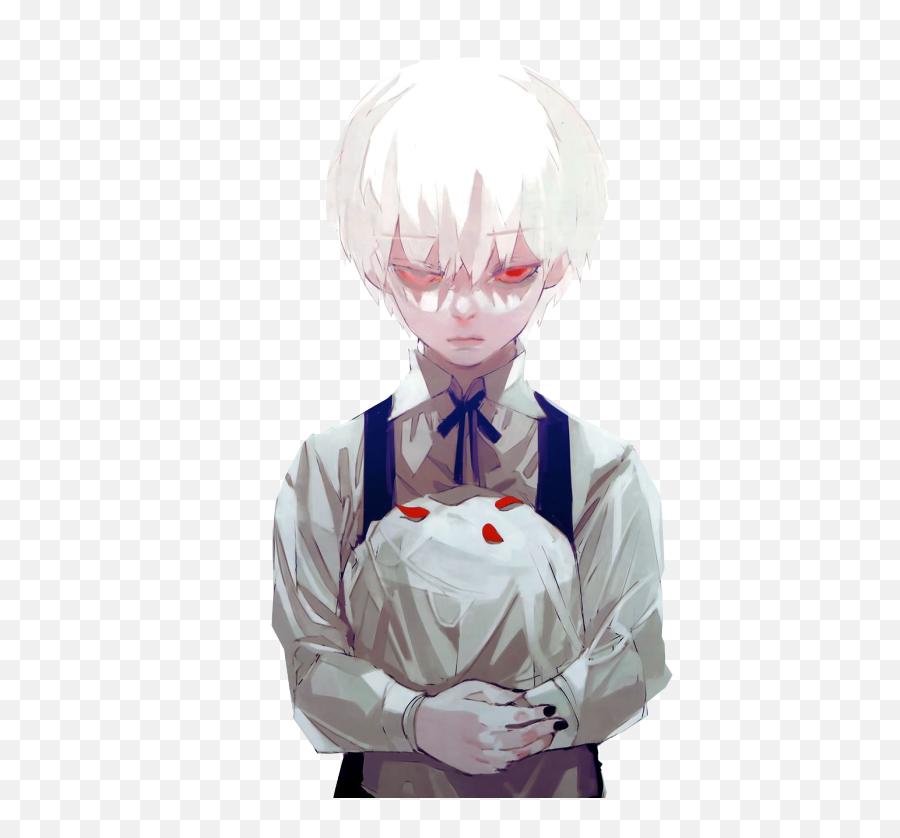 Kaneki Tokyo Ghoul 3 - Anime Kid White Hair Png,Tokyo Ghoul Transparent