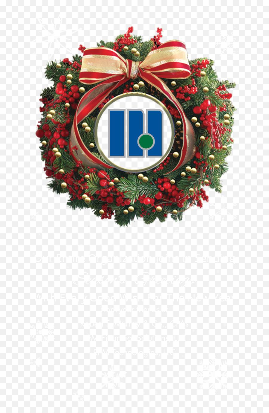 Christmas Banner Png - 2018 Rfm Christmas Banner Mobile3  Wreath