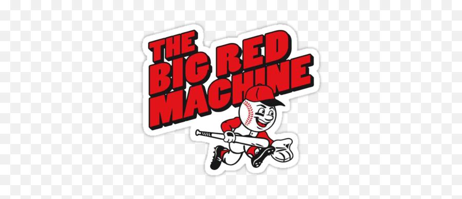 Cincinnati Reds - Big Red Machine Graphic Png,Cincinnati Reds Logo Png