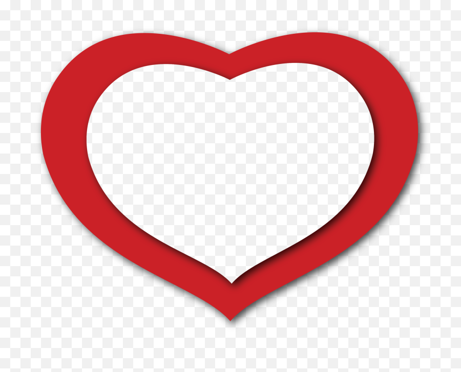 Transparent Red Heart Png Clipart - Red And White Heart,Red Heart Png