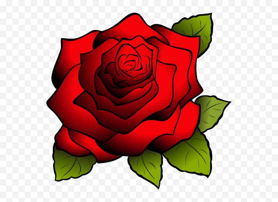 Red Flower Clipart Rose Outline Gambar Bunga Mawar Kartun Png Rose Outline Png Free Transparent Png Images Pngaaa Com