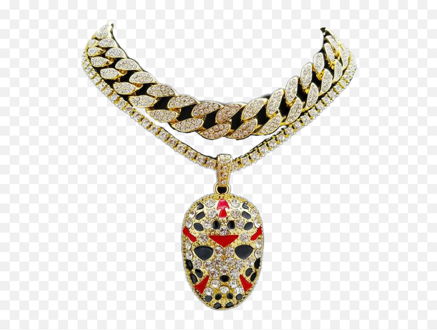Gold Chain Png Cuban - Diamond Choker For Men  Transparent  Diamond Chain Men Png