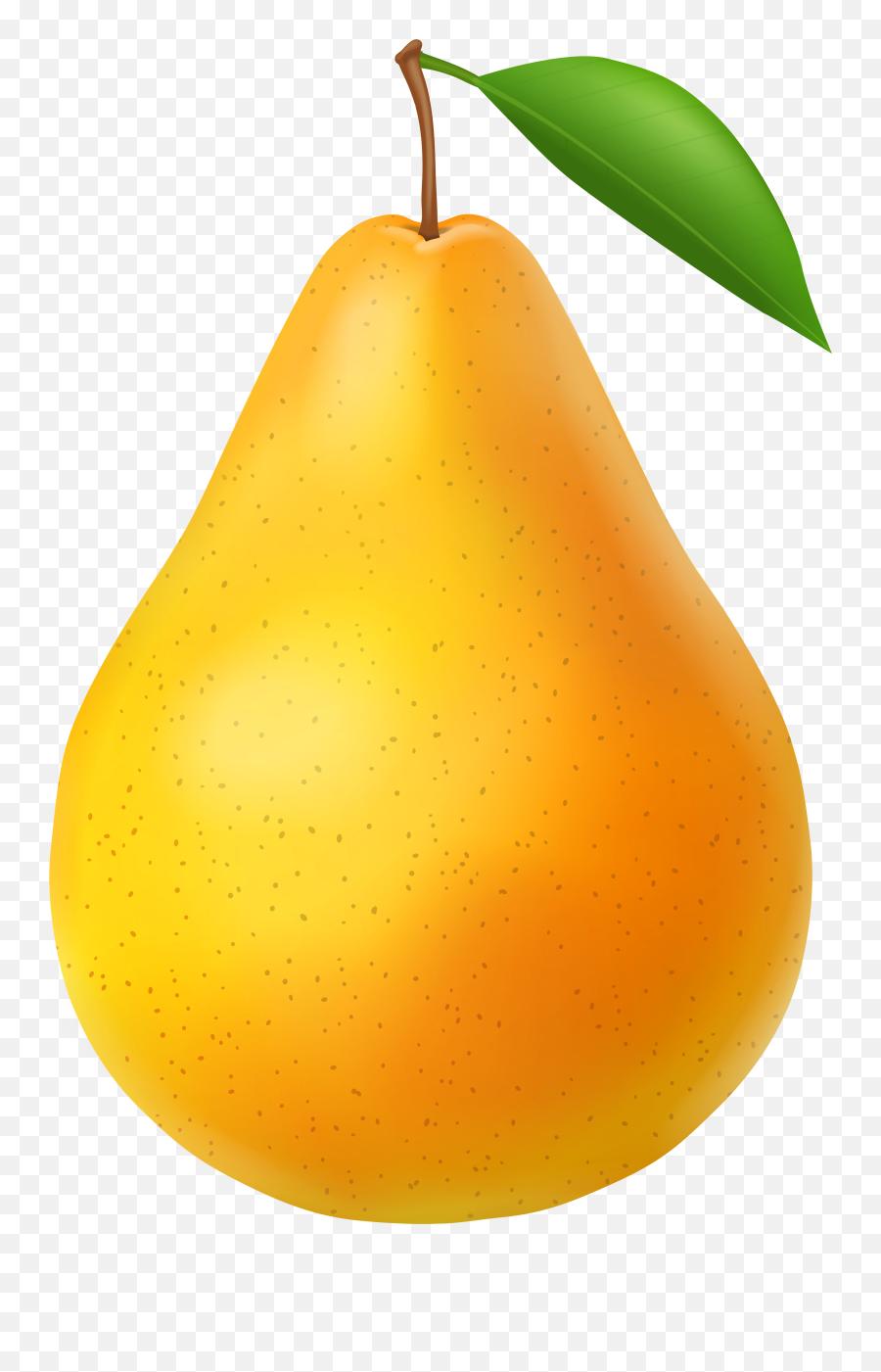 Pear Clip Art - Pear Png,Peas Png