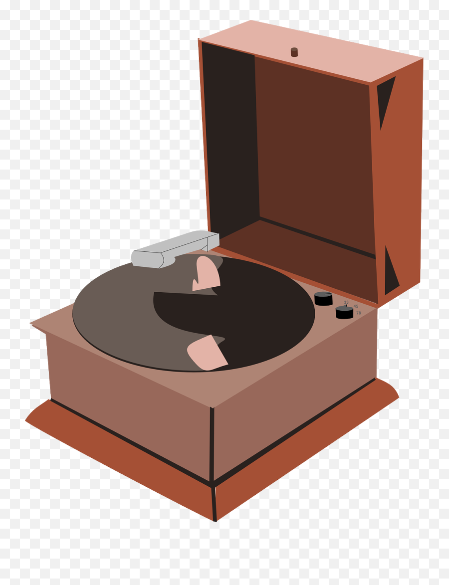 21+ Transparent Gramophone Vector