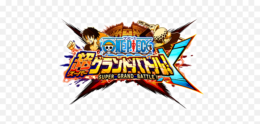 Grand Battle X Logo - One Piece Grand Battle Logo Png,One Piece Logo