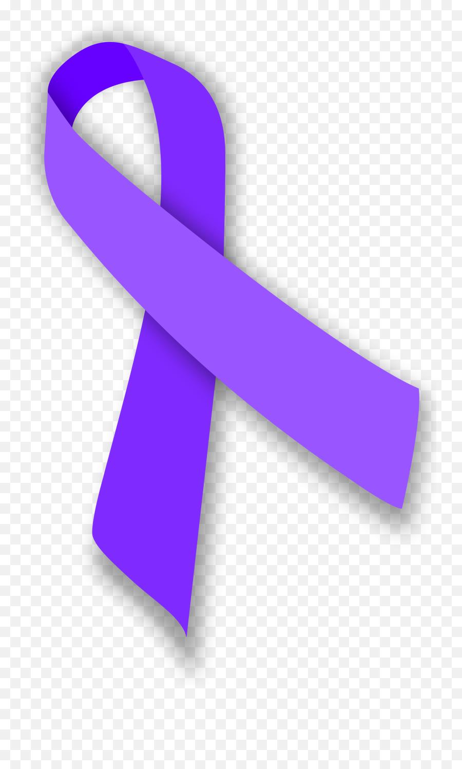 Download Hd Lavender Ribbon Png Picture - Lymphoma Cancer Ribbon,Purple Ribbon Png
