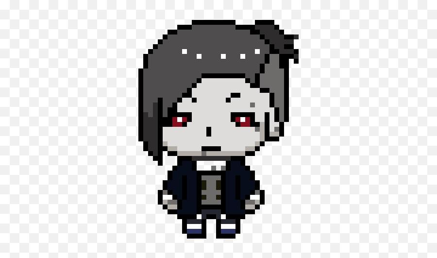 Pixel Art Tokyo Ghoul - Pixel Art En Emoji Png,Tokyo Ghoul Transparent