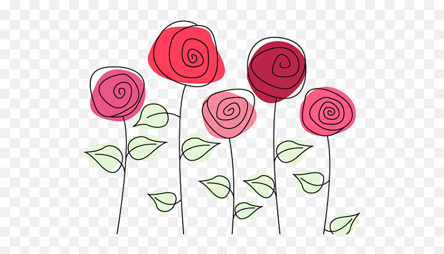 Flower Png Cartoon Picture 496887 Cute Roses Png Free Transparent Png Images Pngaaa Com