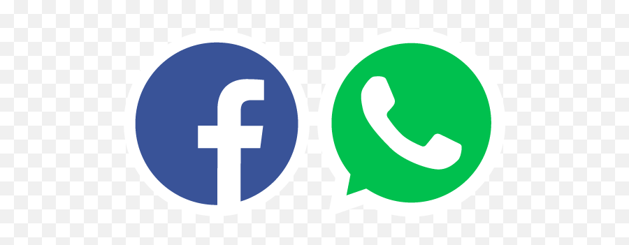 Fb Logo Png Picture - Whatsapp And Facebook Logo