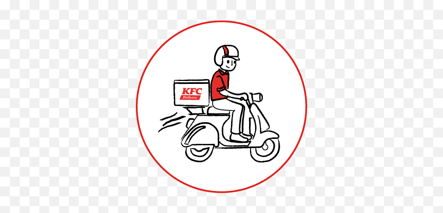 Kfc Malaysia Now Available For Delivery And Self Collect - Motorist Png,Kfc Logo