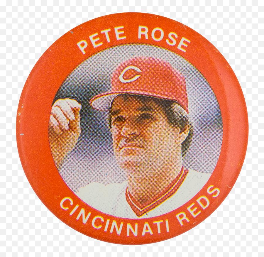 Pete Rose Cincinnati Reds - Smk Putra Bangsa Salaman Png,Cincinnati Reds Logo Png