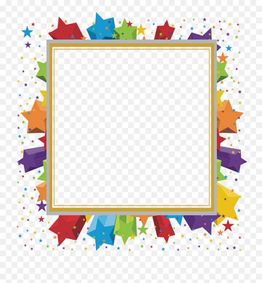 Mq Star Stars Frame Frames Border Borders Celebration Border Clipart Png Celebration Png Free Transparent Png Images Pngaaa Com