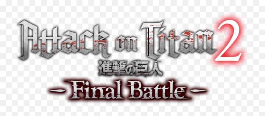 Final Battle Arrives - Attack On Titan Final Battle Logo png