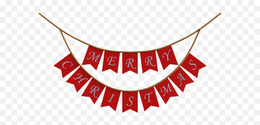 Christmas Banner Red - Free Image On Pixabay Clip Art Png,Christmas Banner Png