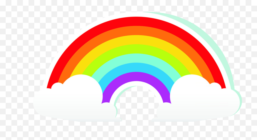 Rainbow Cartoon Cloud Free Clipart Hd Rainbow Illustration Png Cartoon Rainbow Png Free Transparent Png Images Pngaaa Com