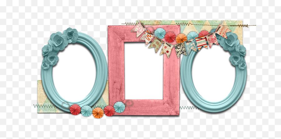 Download Pink Wink Banner - Vintage Frame Girl Png Full Portable Network Graphics,Vintage Banner Png