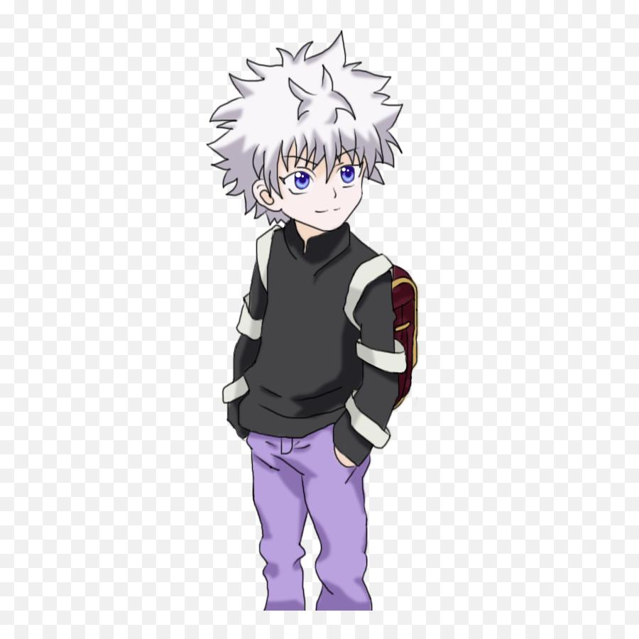 Killua Anime Transparent Png Clipart - Killua Transparent Hunter X Hunter