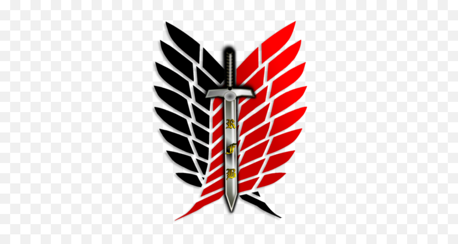 Guilds - Attack On Titan Decal png